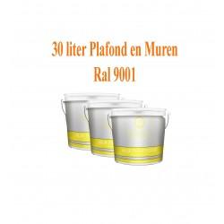 Classic Muur- en Plafondverf  Ral 9001