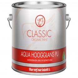 Classic Aqua Hoogglans PU 2,5 Liter