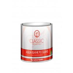 Classic Aqua Blank Lak PU Glans 1 Liter