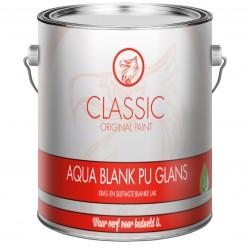 Classic Aqua Blank Lak PU Glans 2,5 Liter